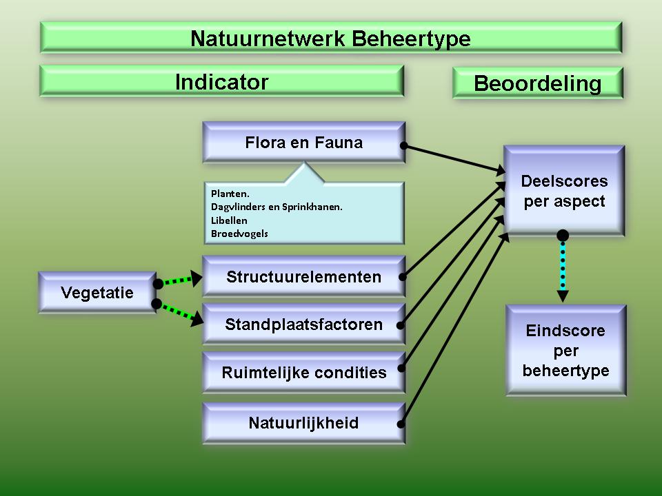 Figuur 3 Natuurnetwerkbeoordeling