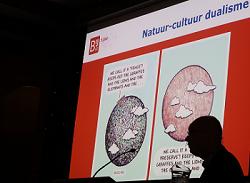 Martin Drenthen spreekt over natuur in mensenland