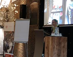 Susan Boonman spreekt over samenleven met wilde dieren