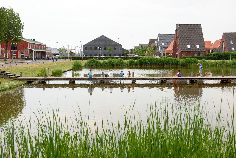 De Haagse wijk Ypenburg is aangesloten op het stadswarmtenet van Eneco. © WKO-bodemenergietool.nl